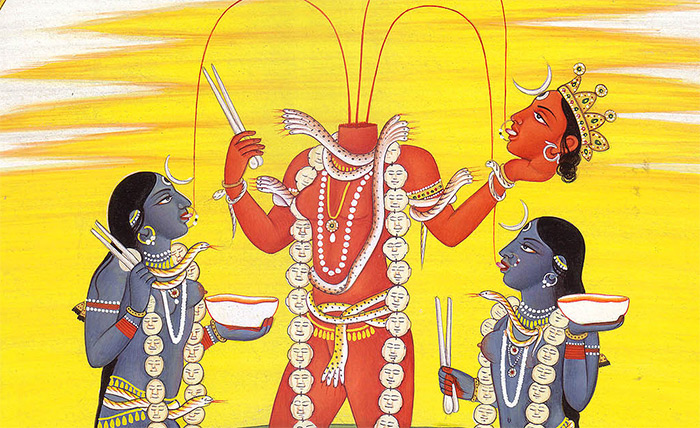 Goddess Chinnamasta, The One with the Severed Head