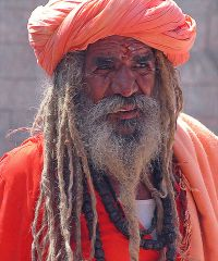 Picture of a Sadhu