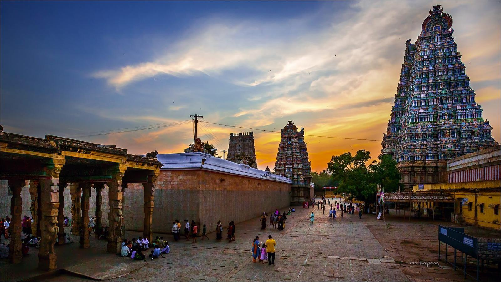 Pictures of Madurai Meenakshi Amman Temple