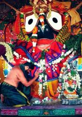 Pictures of Lord Jagannatha