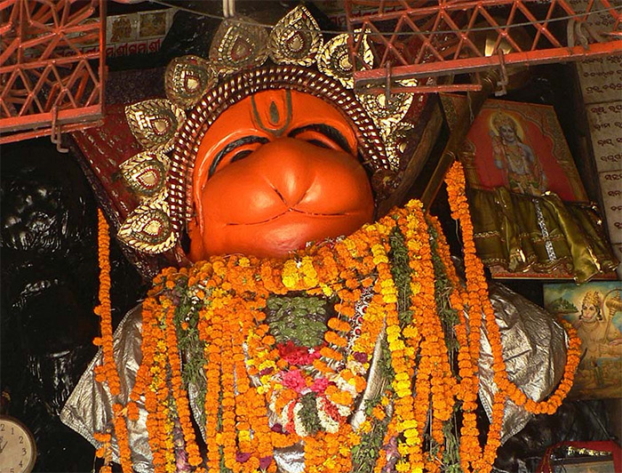 Why do we apply Sindoor to Lord Hanuman?