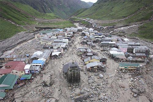 Videos Showing Destruction in Kedarnath