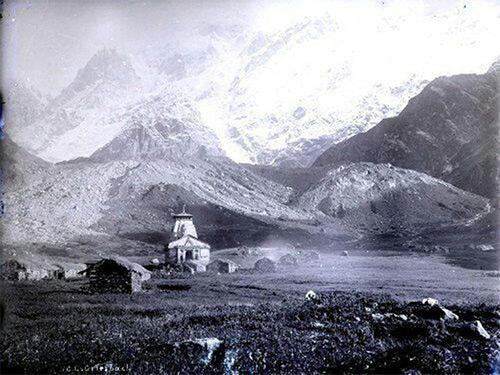 Archival Photographs of Kedarnath and Gangotri from 1882