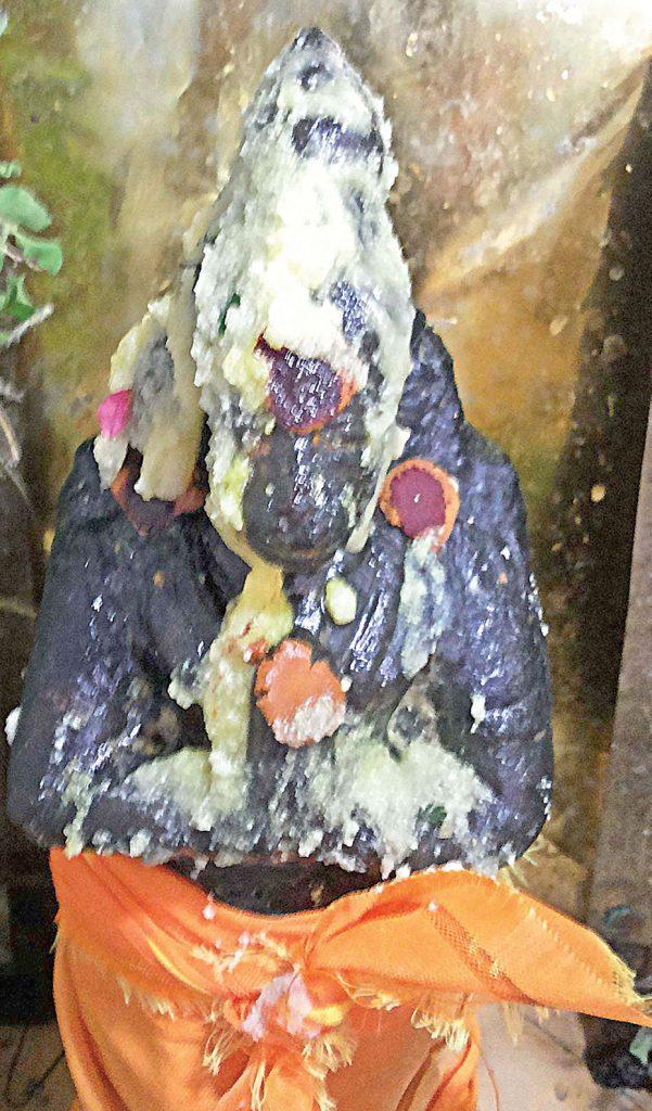 Ghee Flows from Deity in Madurai