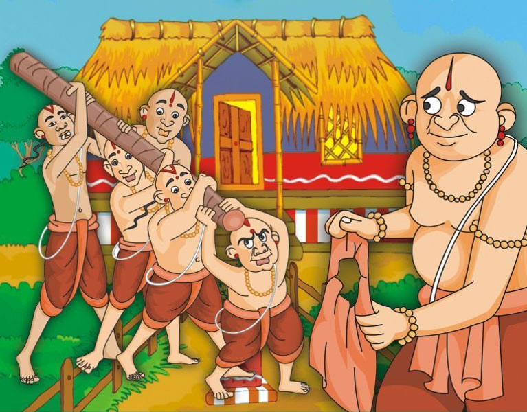 Guru Paramartha and His Five Foolish Disciples