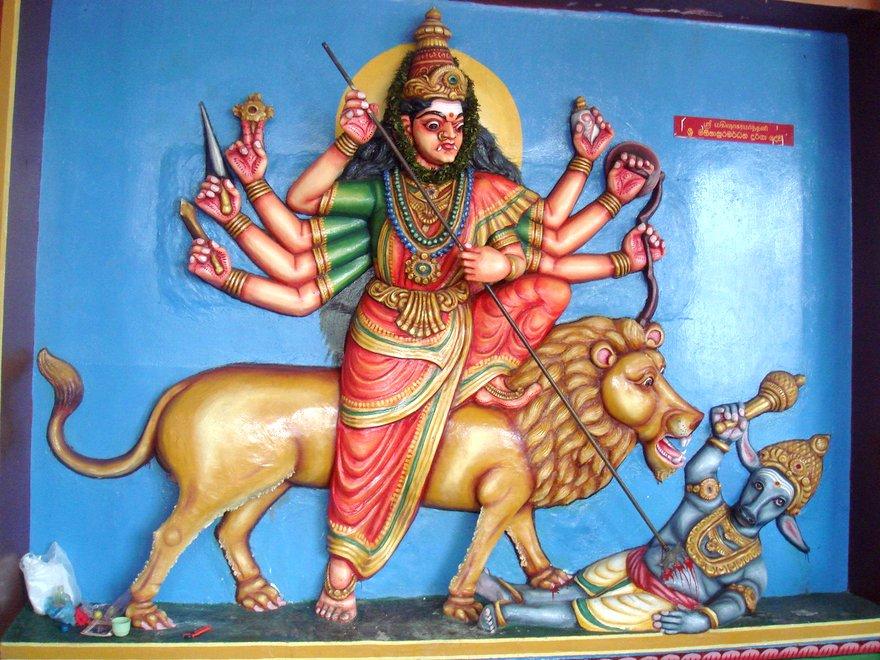 templo Munneswaram en Sri Lanka