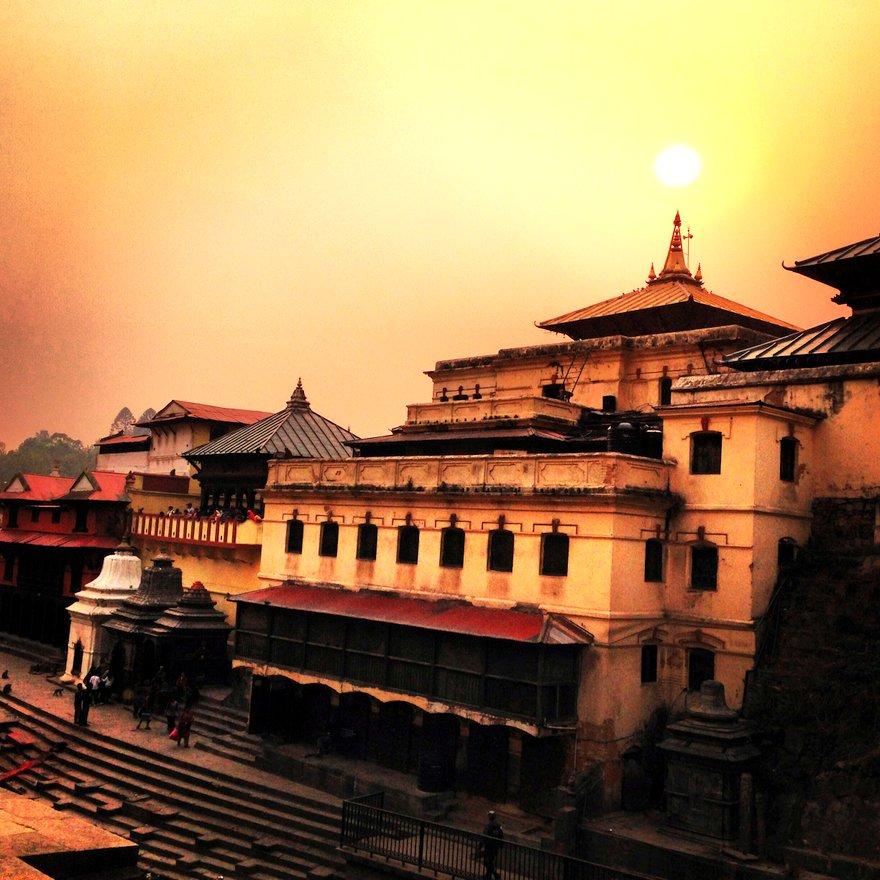 Pashupatinath Templo 5