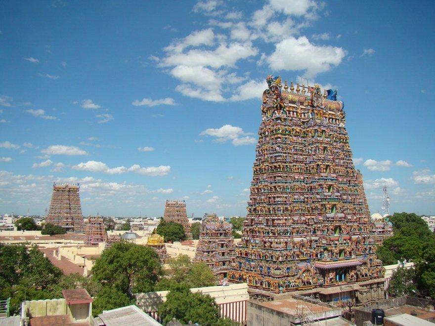 108.000 templos y sus ubicaciones en la India