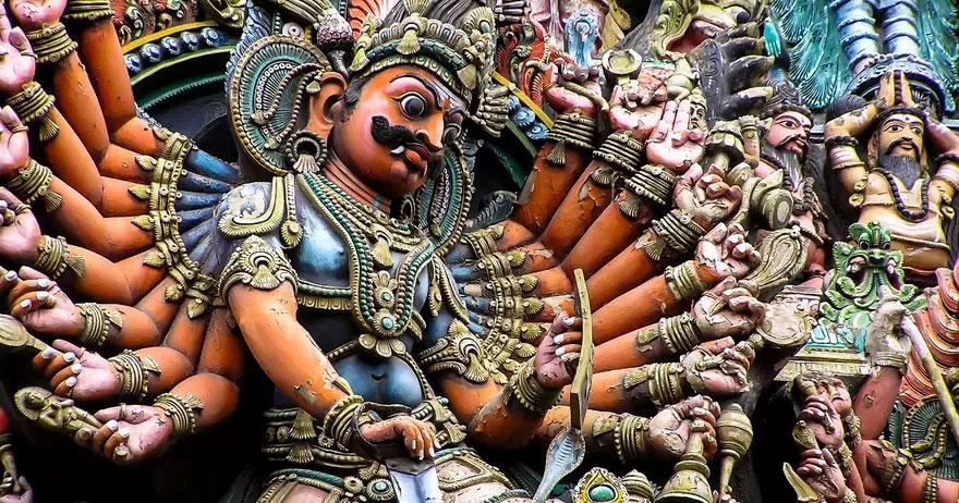 27 imágenes sorprendentes de Madurai Meenakshi Amman Temple