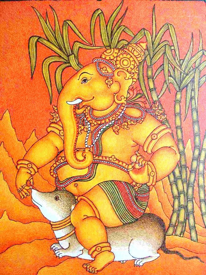 ganesha and his vahana