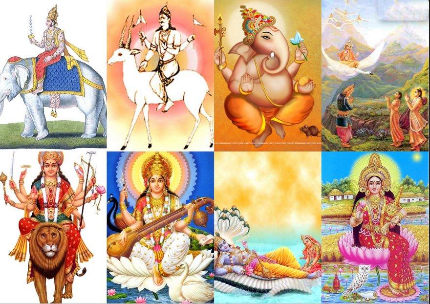 Importancia de vahanas Animal de dioses hindúes