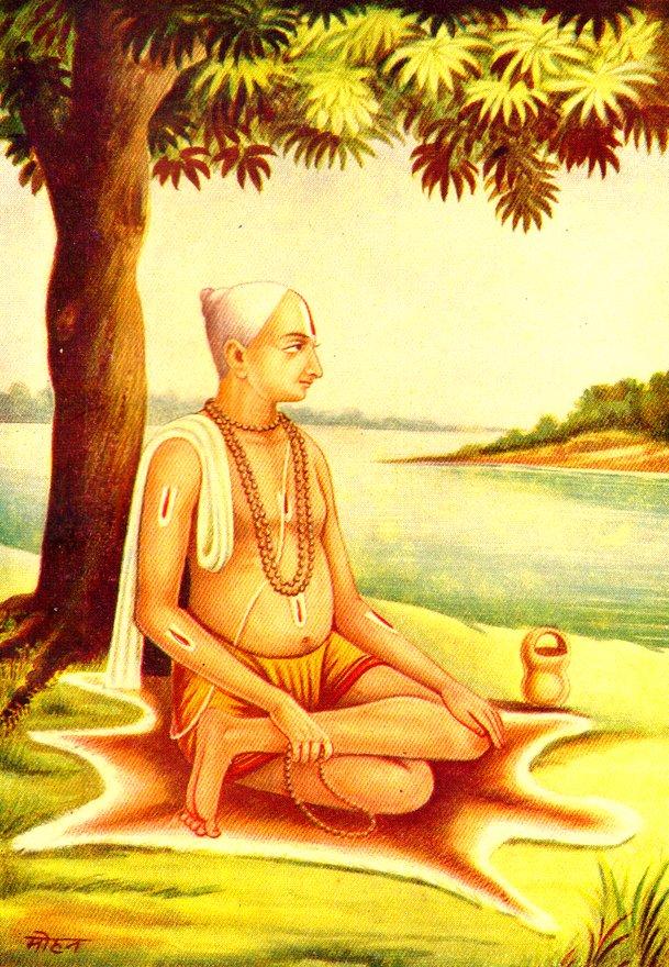 tulsidas wrote hanuman chalisa