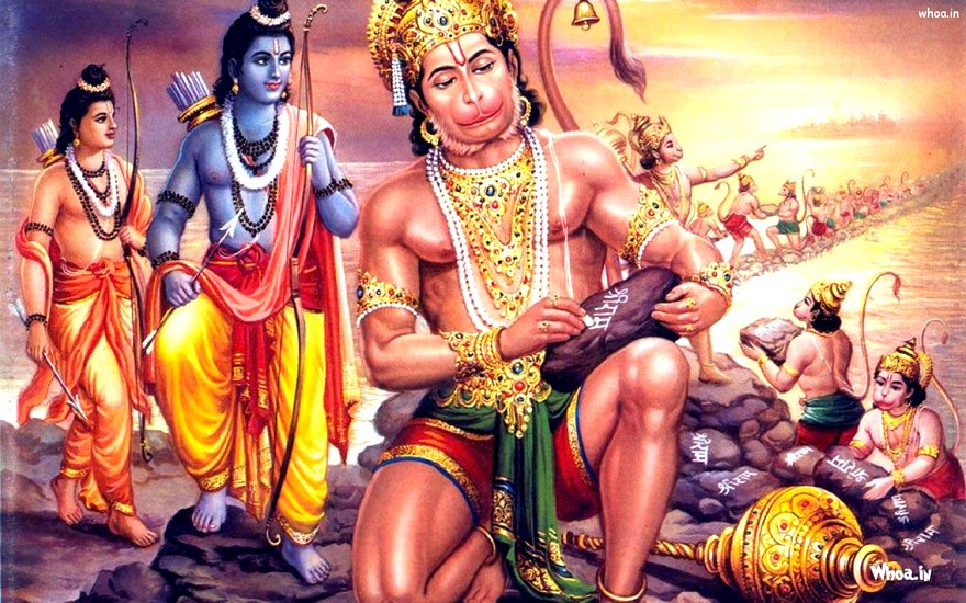 hanuman-writting-shri-ram-on-stone