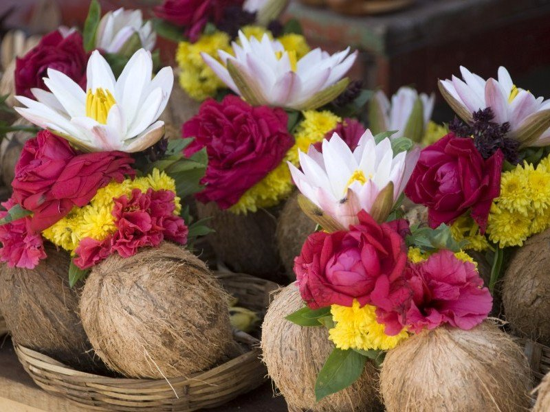 Importance of Using Coconut in Temples