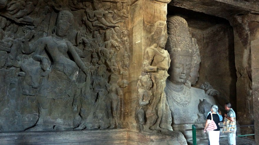 elephanta caves paintings - photo #4