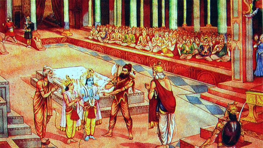 parashurama � the 6th avatar of lord vishnu