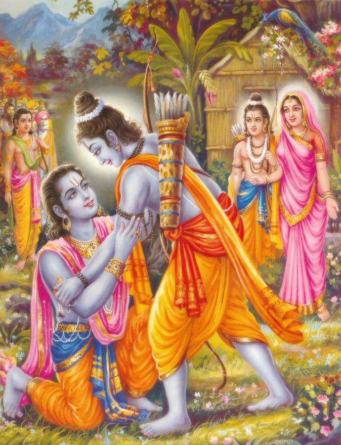 themes in the ramayana Magical weapons appear frequently throughout the ramayana these relate to the central themes of combat, but also indicate the central role of the gods in the text: many of these weapons come from the gods, and are evidence of divine favor.