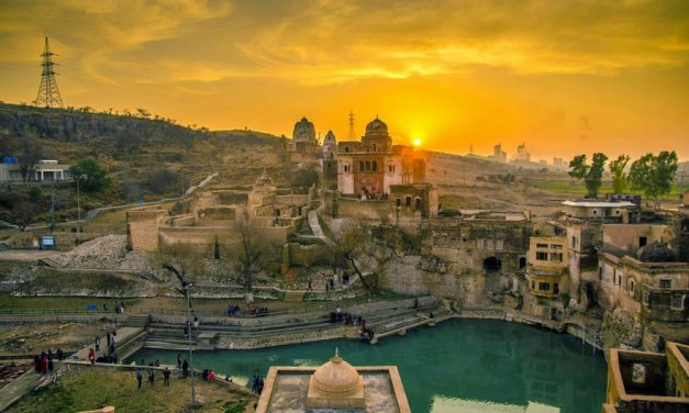 The Ancient Katasraj Shiva Temple in Pakistan