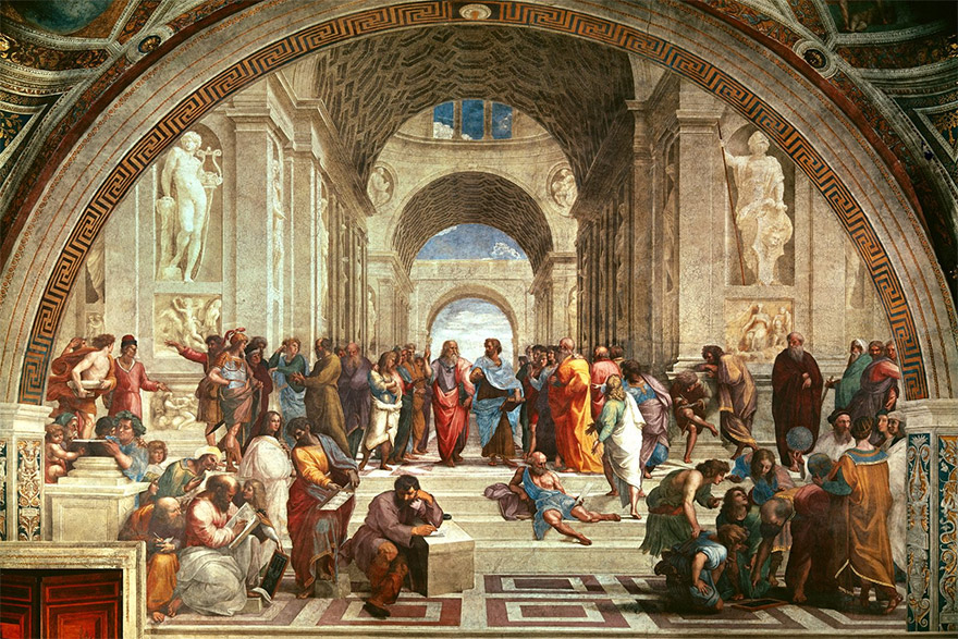 Ancient Western Philosophy and the Hindu Wisdom: A Bird's-eye View