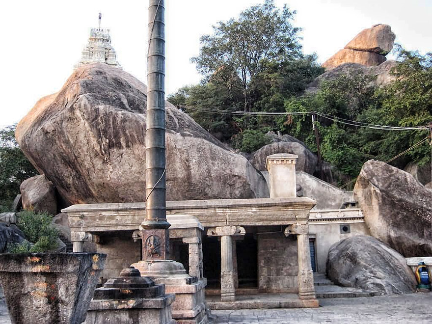 Guided by Bhairava at Vallimalai