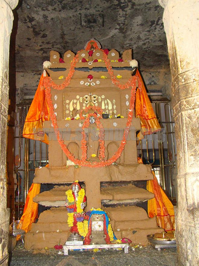 Original Jeeva Samadhi of Sri Raghavendra (Mula Brindavana)