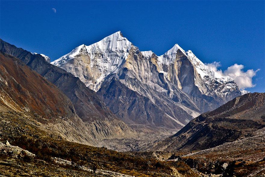 Bhagirathi Mountain Peaks