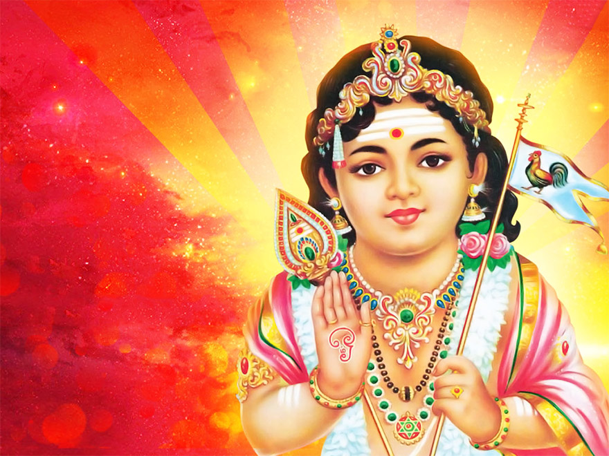 A Moment of Gratitude – The Birth of Shanmukha