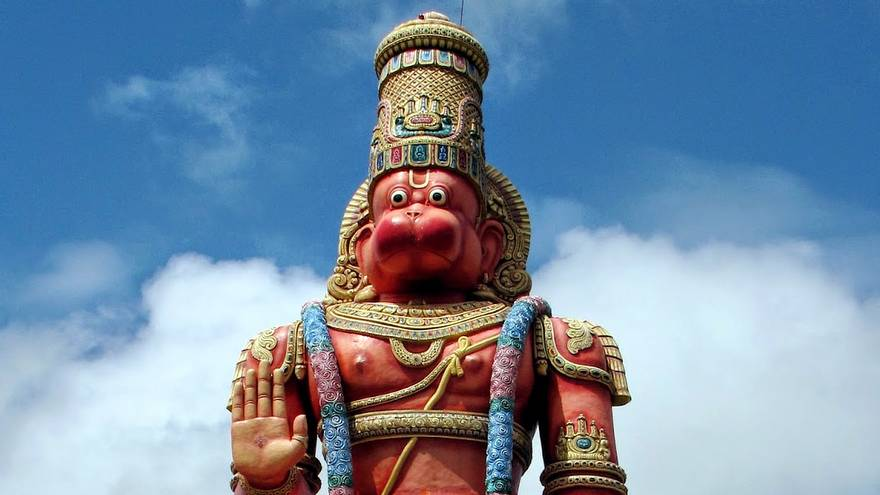 Why is Hanuman Red?