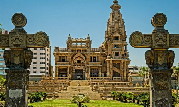 The Odd Story of Egypt's Haunted Hindu Temple-Palace