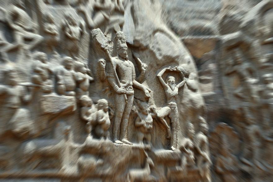Arjuna's Penance & Pasupataastra
