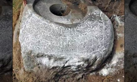 Rare Tamil Inscription Found in Tiruvannamalai District