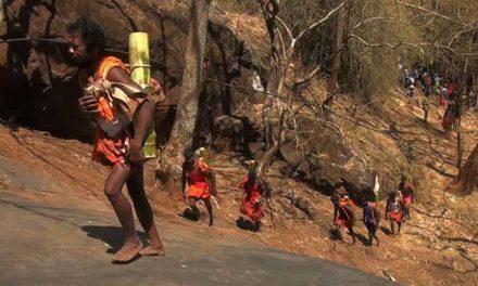 Every Shivaratri Kurumba Tribals Make the Hazardous Pilgrimage up the Mountain to Worship Lord Shiva