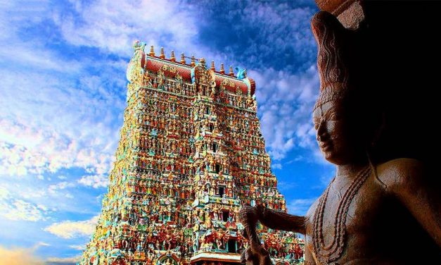 Glimpses of Madurai Meenakshi Temple