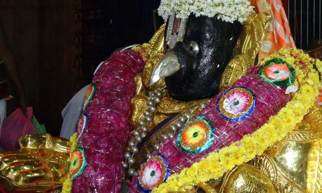 Mysterious Garuda of Nachiar Temple