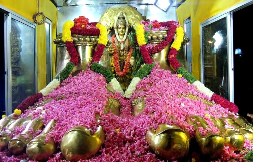 90 Foot Tall, 65 Ton Panchaloha Deity of Goddess Parameshwari in Penugonda