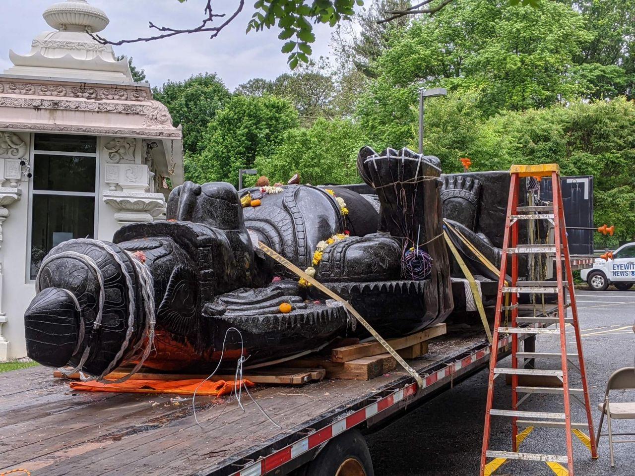Tallest Hanuman Deity in the US is Installed in Delaware