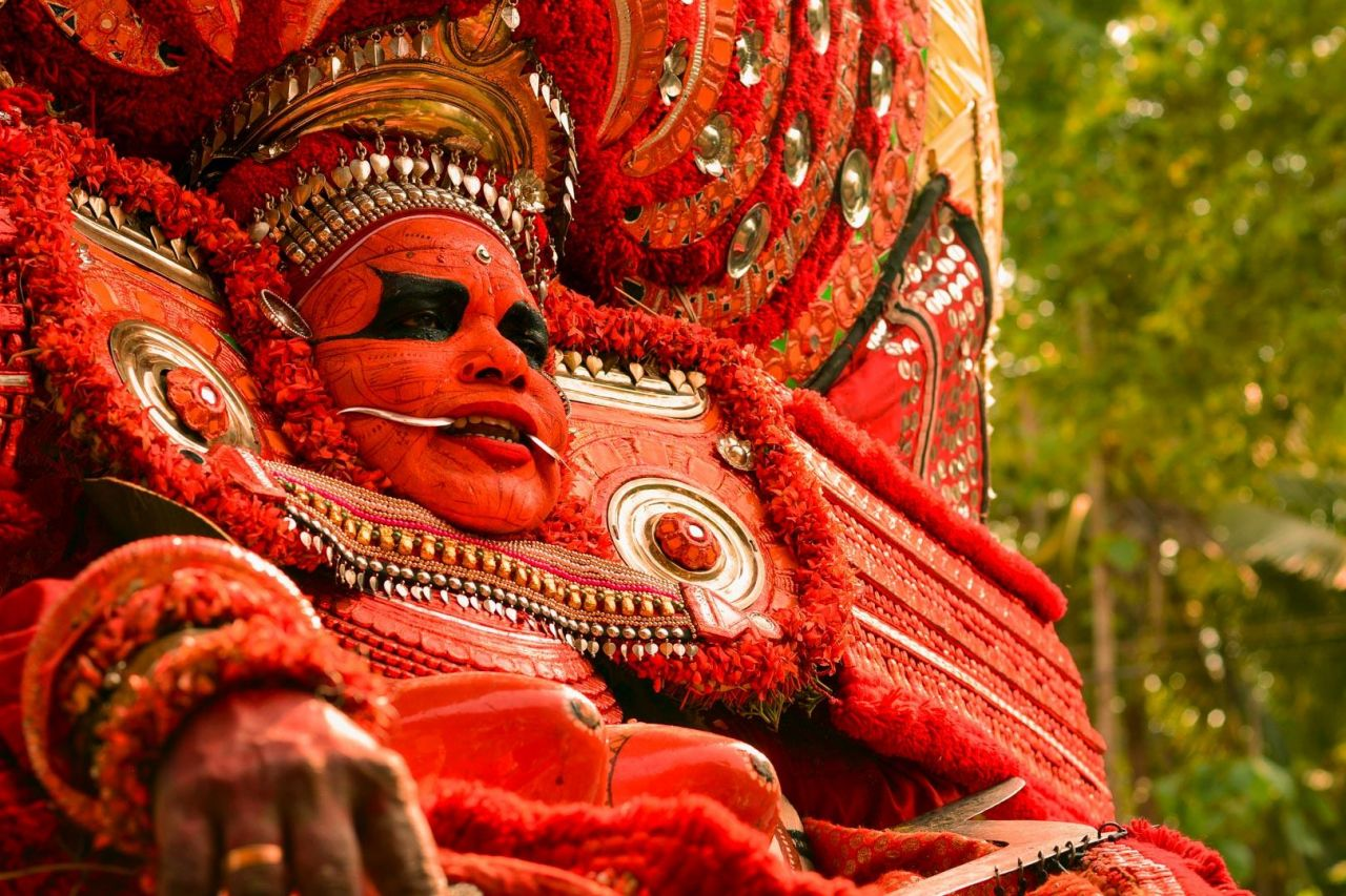 The Ancient Tradition of Theyyam Dance Worship in Kerala