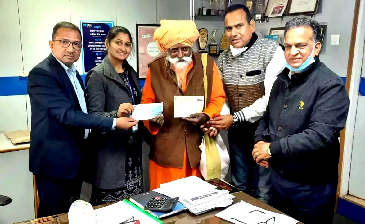 83 Year Old Cave-Dwelling Sadhu Donates ₹1 Crore Towards Construction of Ayodhya Ram Mandir